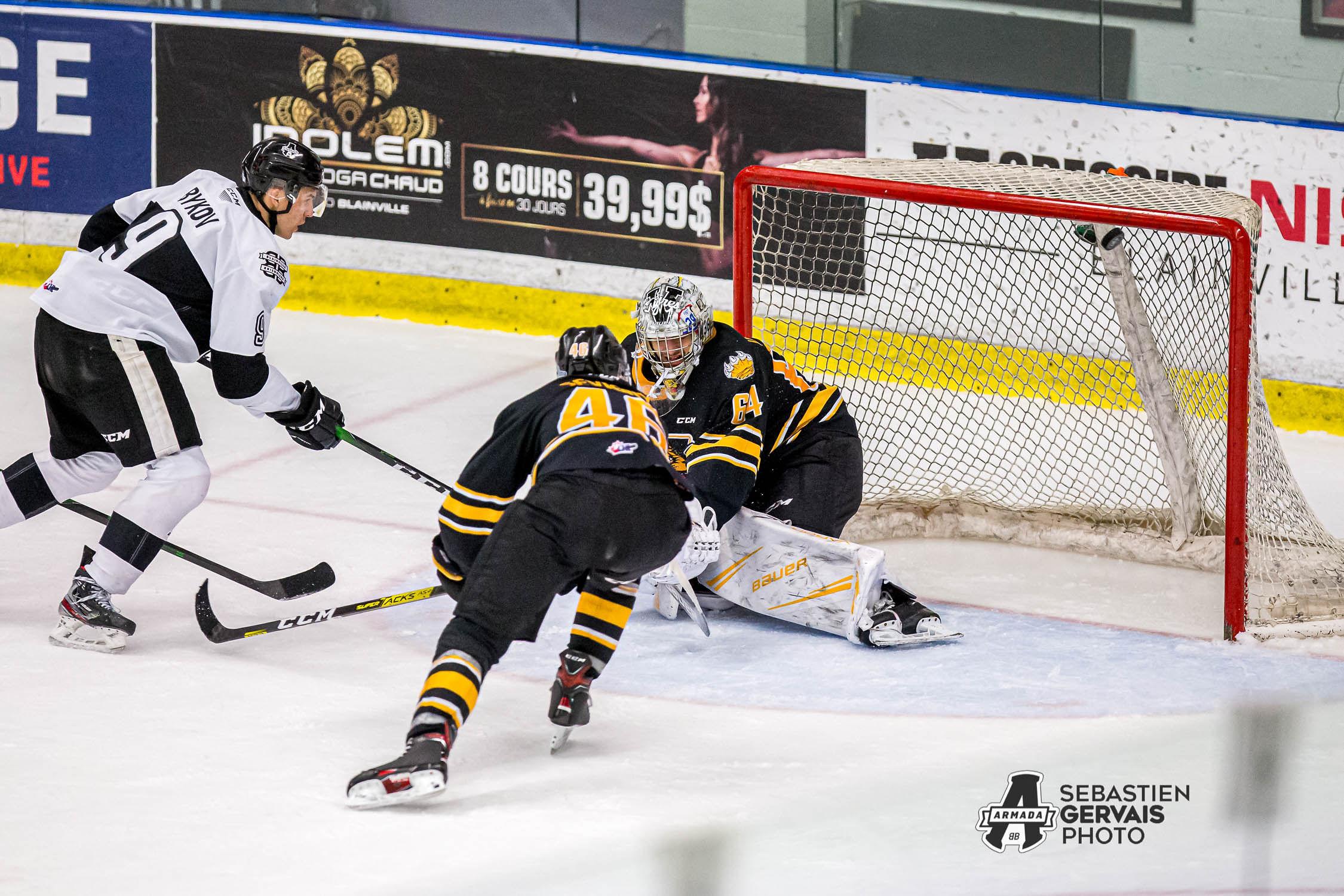 Troisième défaite consécutive pour Blainville-Boisbriand