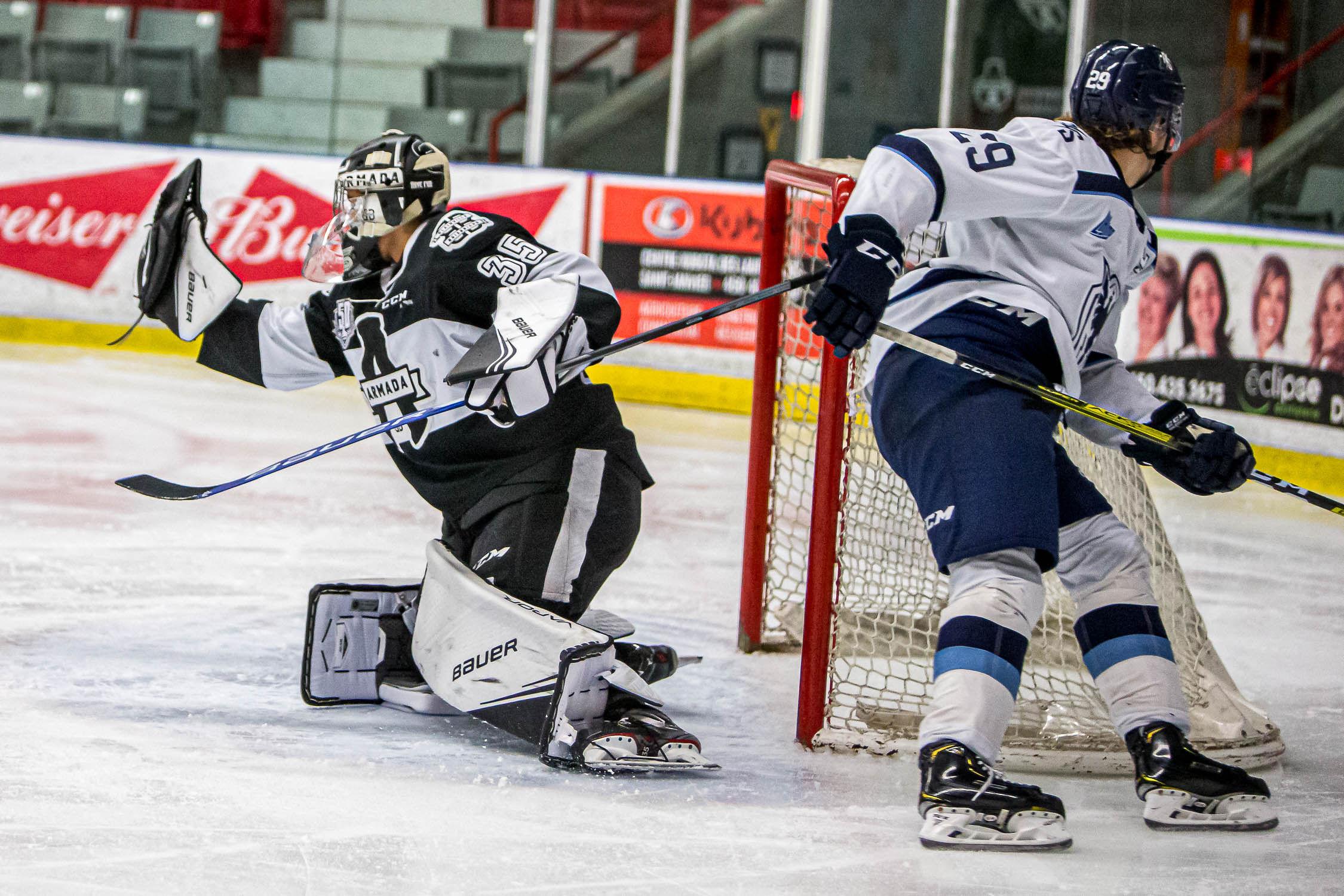 Samuel Poulin mène Sherbrooke à la victoire