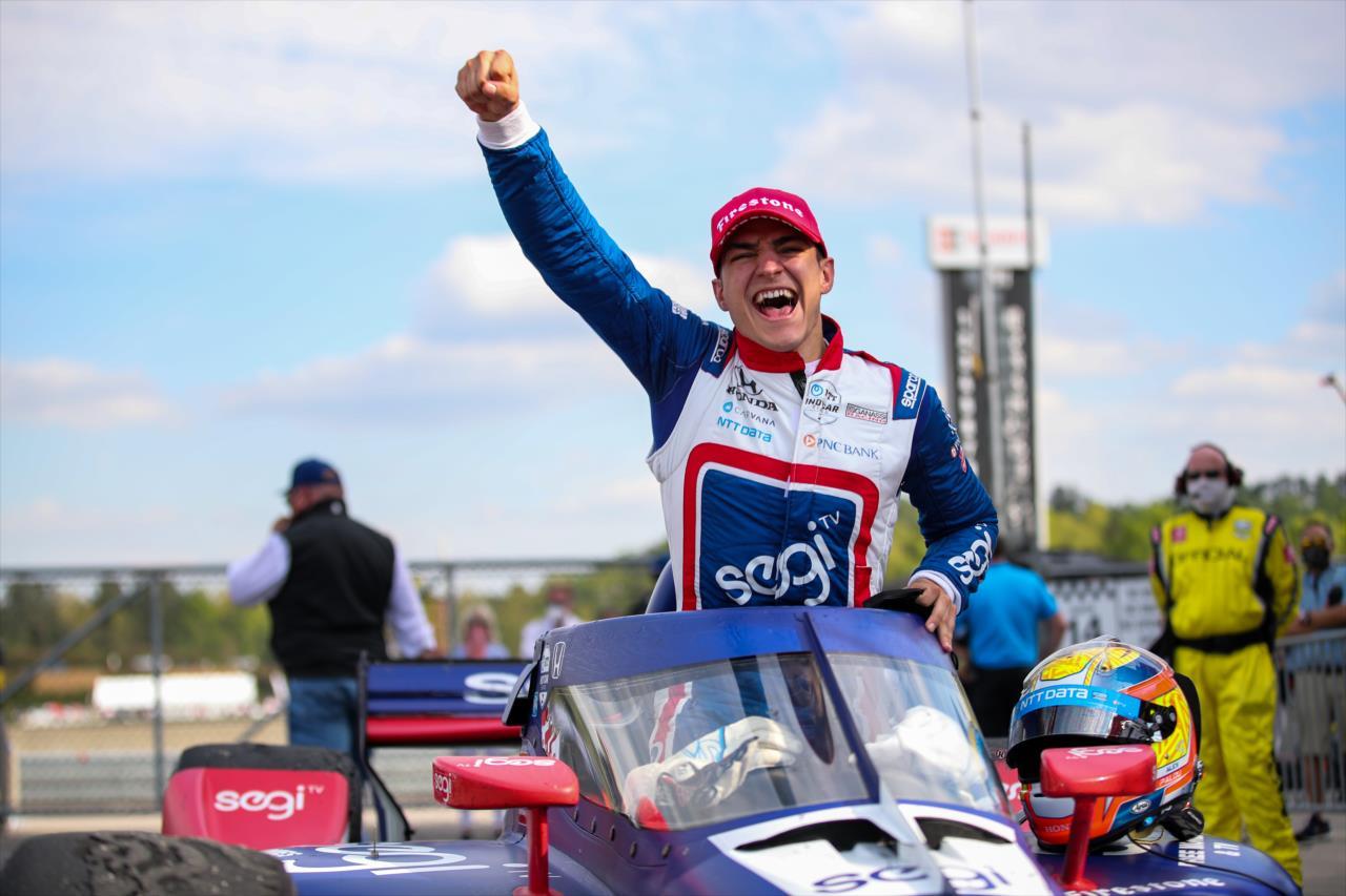 Première victoire en IndyCar pour Alex Palou à Barber