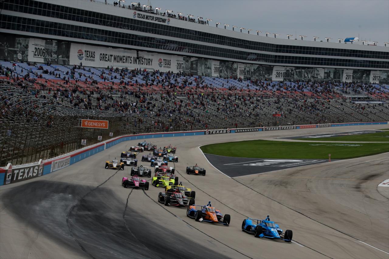 Dixon et O'Ward triomphent au Texas